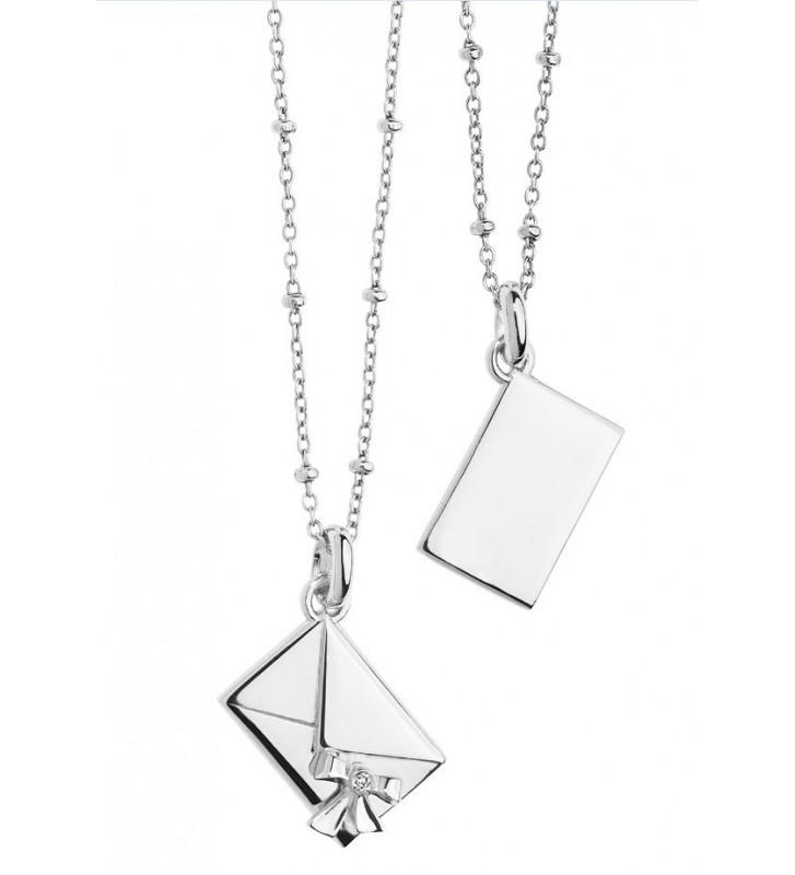 SALDI Girocollo COMETE GIOIELLI in argento 925 con diamante GLA136