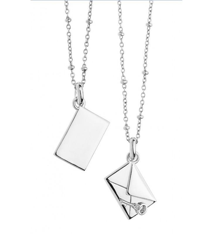SALDI Girocollo COMETE GIOIELLI in argento 925 con diamante GLA137