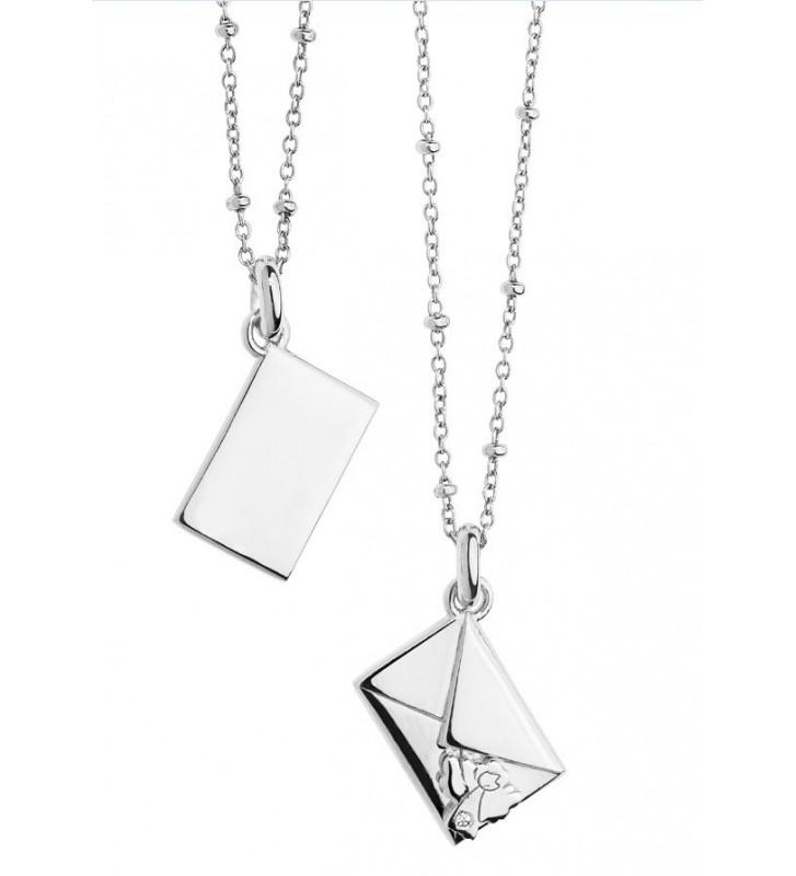 SALDI Girocollo COMETE GIOIELLI in argento 925 con diamante GLA135