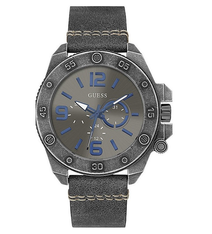 Orologio GUESS Gent VIPER leather - W0659G3