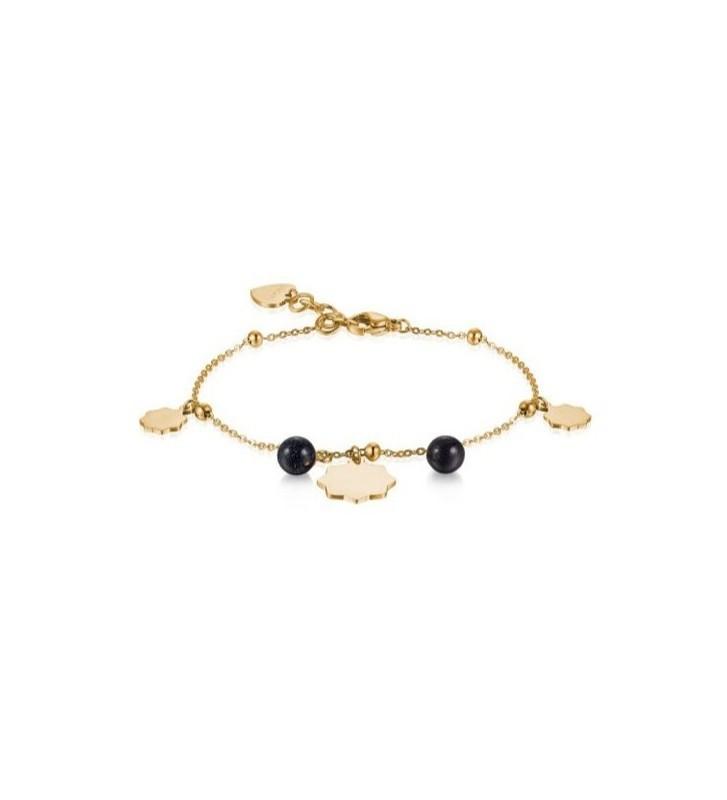 Anello in oro bianco e giallo diamanti e zaffiri Valore 980