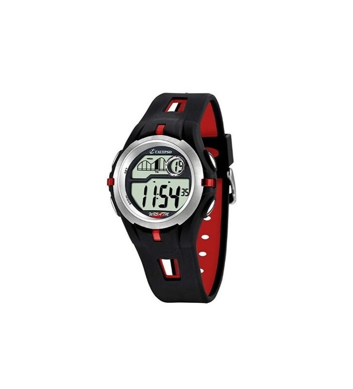 Orologio CALYPSO in silicone - K5511/4 Black Red