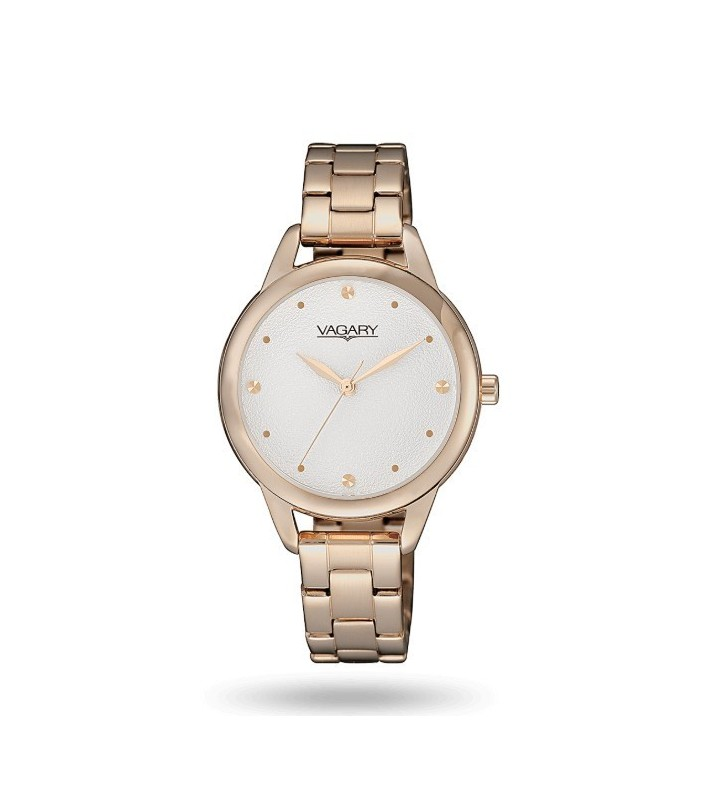 Orologio VAGARY by CITIZEN Lady Flair in Acciaio IK9-026-13 Gold