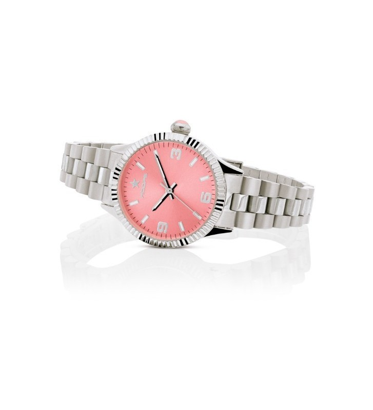 Orologio HOOPS NEW LUXURY in Acciaio 2618L-S05 Pink