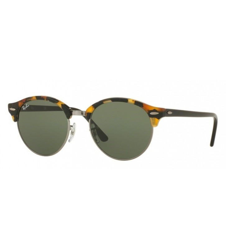 Occhiali sole Ray Ban RB4246 1157 51 SPOTTED Black HAVANA