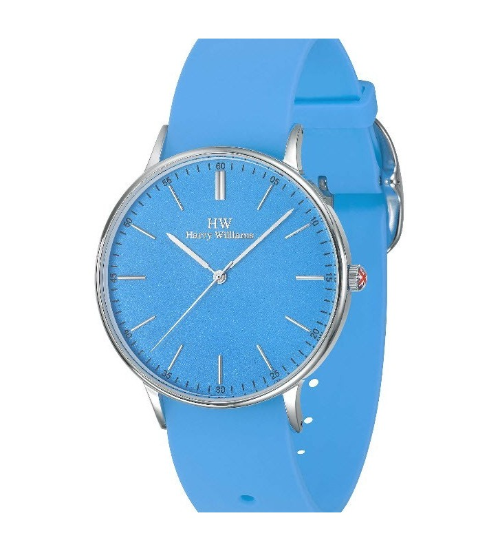 Orologio HW Gent Harry Williams - BEACH COLLECTION - Silicone Strap - HW2417M/02 Blue