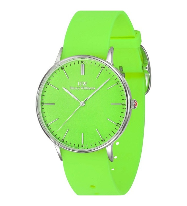 Orologio HW Gent Harry Williams - BEACH COLLECTION - Silicone Strap - HW2417M/03 Green