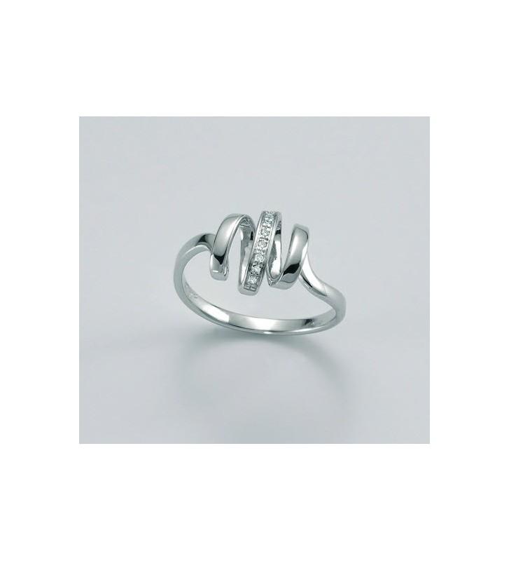 SALDI Anello MILUNA oro bianco e diamanti LID3172