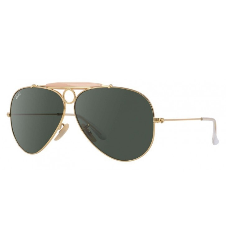 Occhiali sole Ray Ban SHOOTER - RB3138 001 62