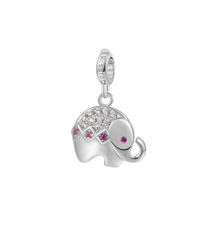 Bracelet BYBLOS heart shaped charm silver colored metal - 9518