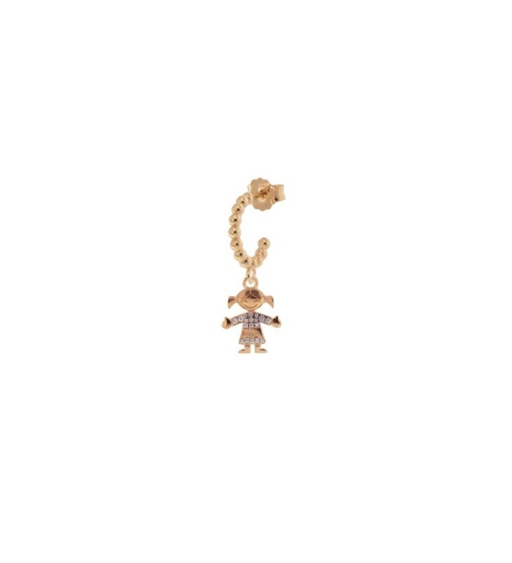 Bracciale KIDULT FAMILY in acciaio 316L - 231570 GIRL - My little Princess