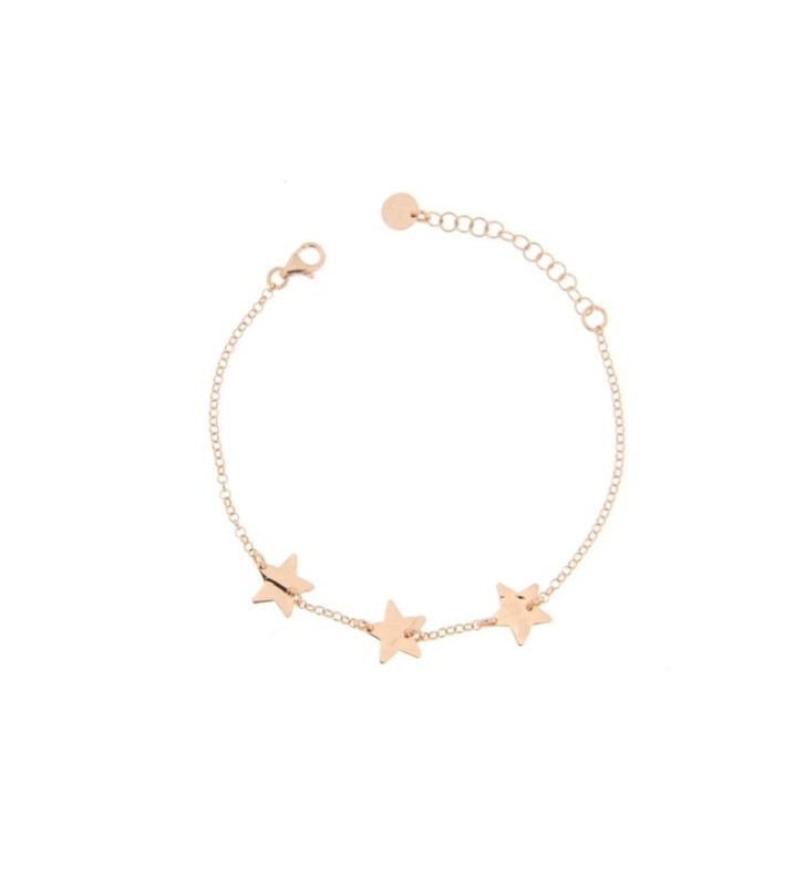 Bracelet KIDULT NATURE stainless steel 316L with Crystals GIGLIO - 231618
