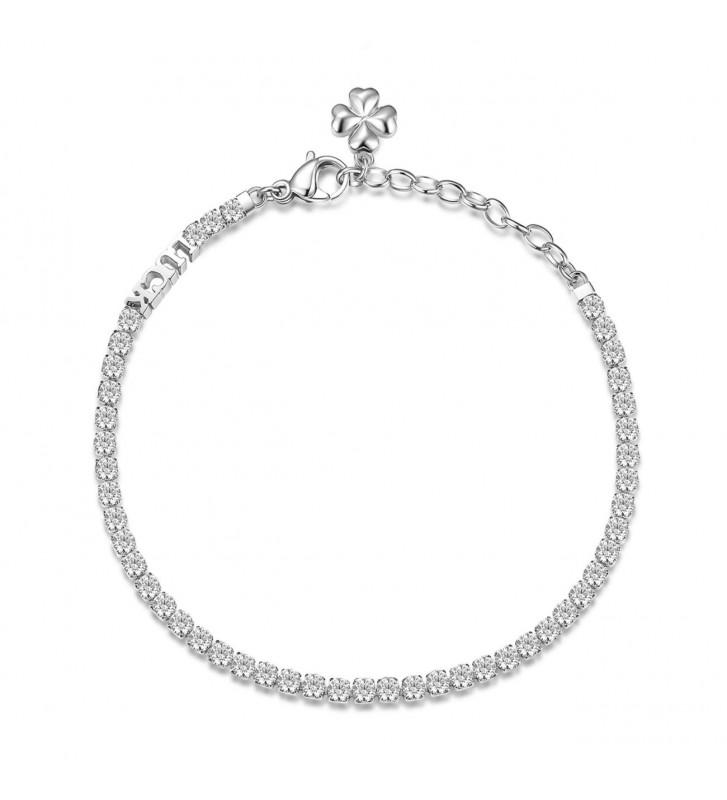 Anello oro e diamante solitario ct. 0.08 - 811114 - Valore 400