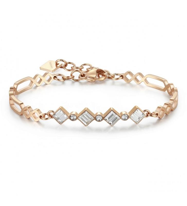 Armband KIDULT LOVE - 731040 Negli abbracci.. Rose Gold