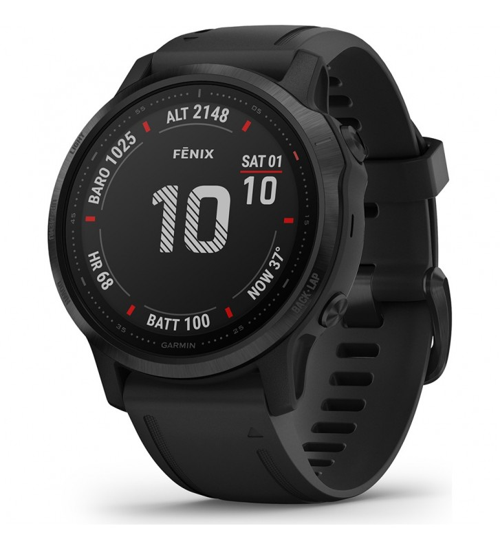 Orologio GARMIN FENIX 6S PRO 010-02159-14 GPS Black 42MM