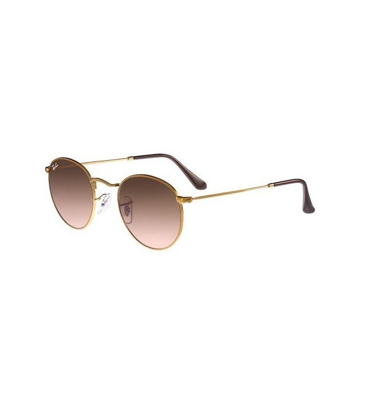 Occhiali sole Ray Ban Round Metal RB3447 9001/A5 47 Light Bronze Pink