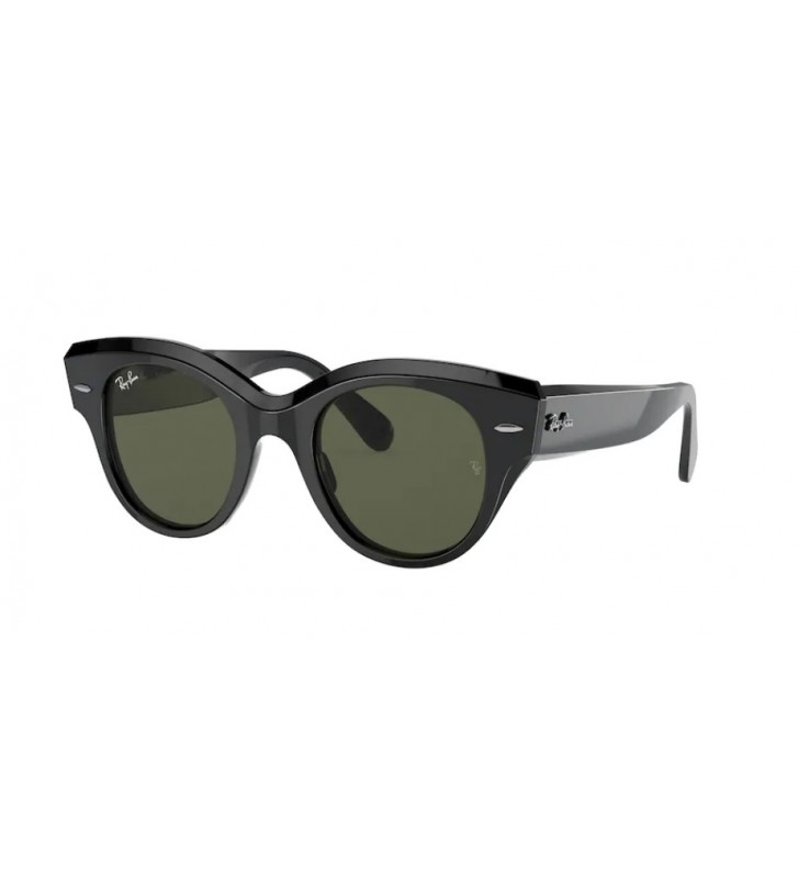 Occhiali sole Ray Ban ROUNDABOUT RB2192 901/31 47 Green