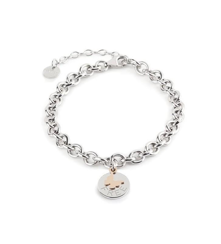 SALDI Bracciale JACK & CO. Jewelry argento DREAM Collection - JCB0762 - FREE