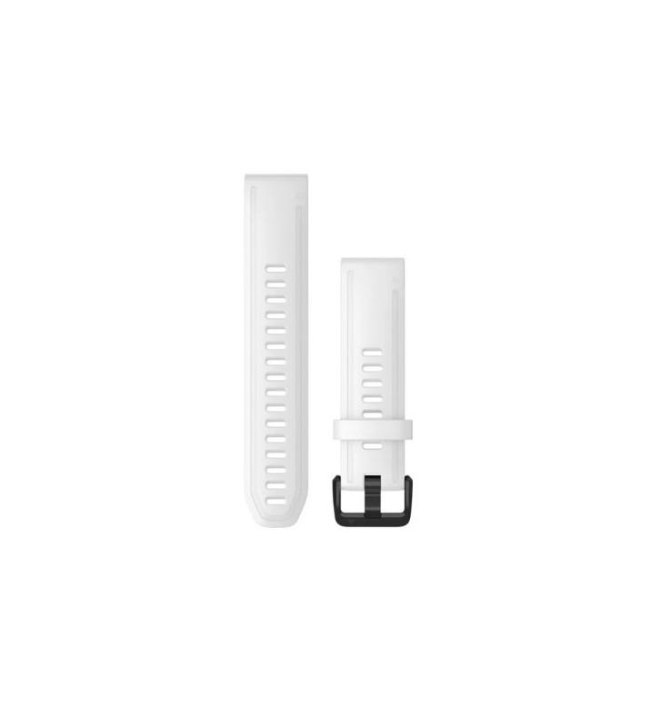 Cinturino GARMIN QUICKFIT 20 in Silicone 010-12865-00 White Black
