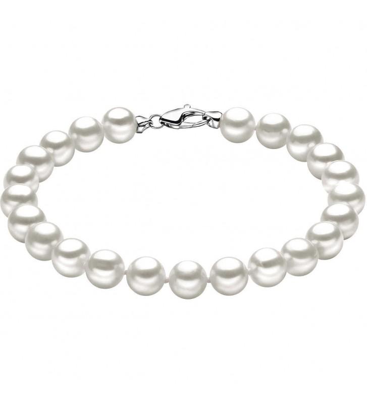 Bracciale COMETE GIOIELLI di perle e oro bianco 18kt BRQ111