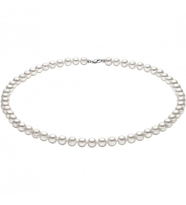 Collana COMETE GIOIELLI di perle ed oro bianco FWQ102