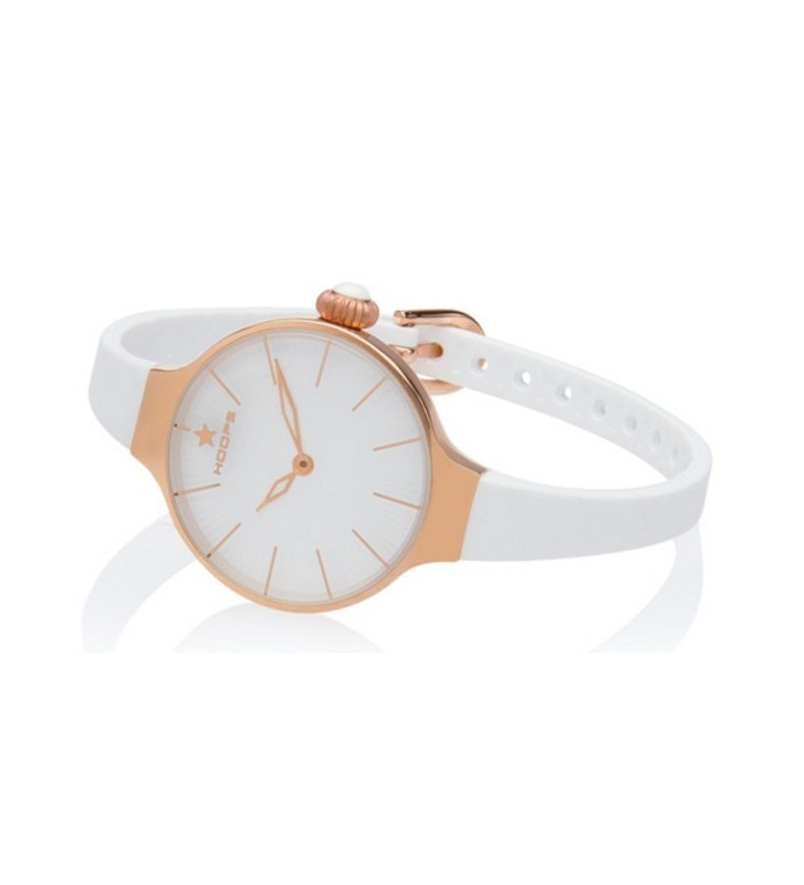 Orologio HOOPS Noveau Chérie Gold Collection White - 2583L-RG02