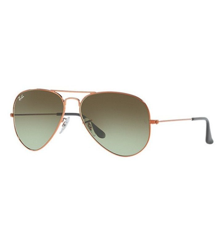 Occhiali Ray Ban AVIATOR GRADIENT RB3025 9002/A6 58 Green Shaded