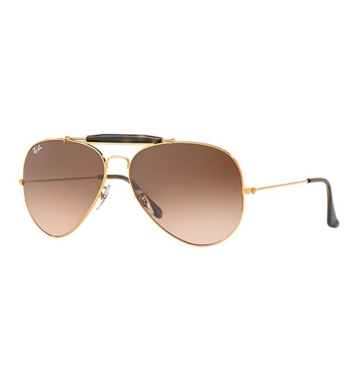 Occhiali Ray Ban OUTDOORSMAN II RB3029 9001/A5 62 Bronze - Pink/Brown Gradient