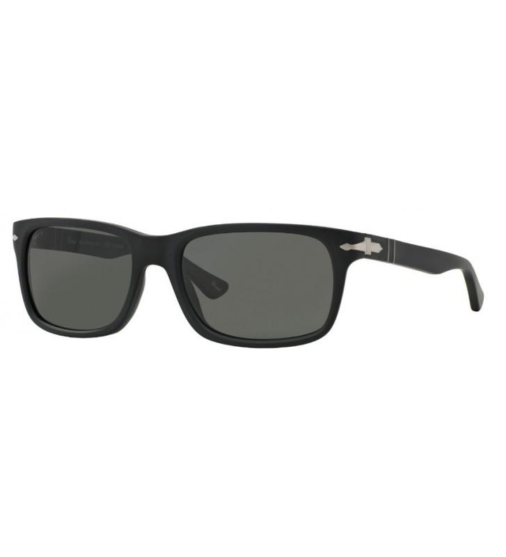Occhiali sole PERSOL originali PO3048-S 9000/58 58 Black Polarized Grey