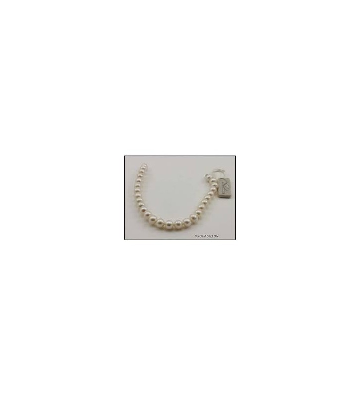 SALDI Bracciale MILUNA di perle e oro bianco - 1MPE885-18
