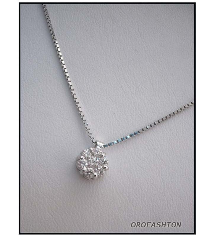 Girocollo oro fantasia diamanti 2807118 Valore 770