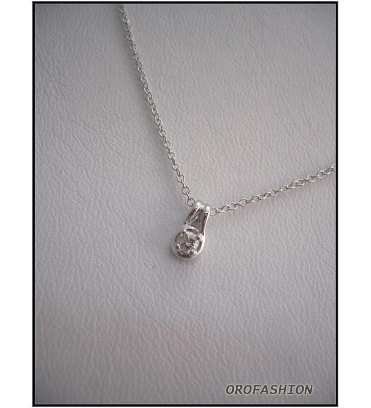 Girocollo BLISS in oro 18kt con diamanti ct. 0.06 - 1393800
