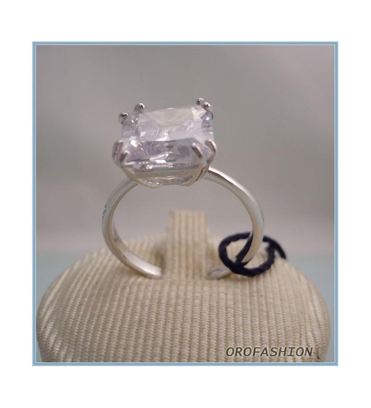 Anello BLISS in argento con diamante e cubic zirconia - 3130900