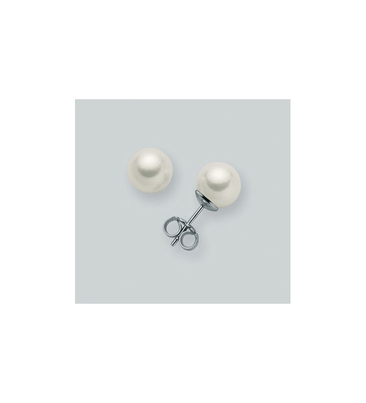 Orecchini MILUNA in oro bianco 9kt e perle PPN885BMX