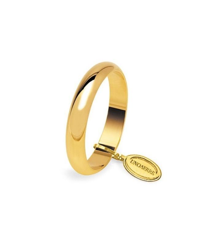 Fede UNOAERRE Fedi Classiche gr. 6 Classica in oro giallo