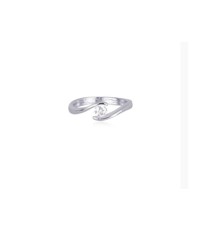 Anello oro e diamante solitario Valore 1400 13111032