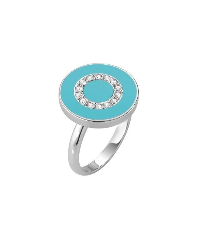 White gold ring 18kt design band 25051114
