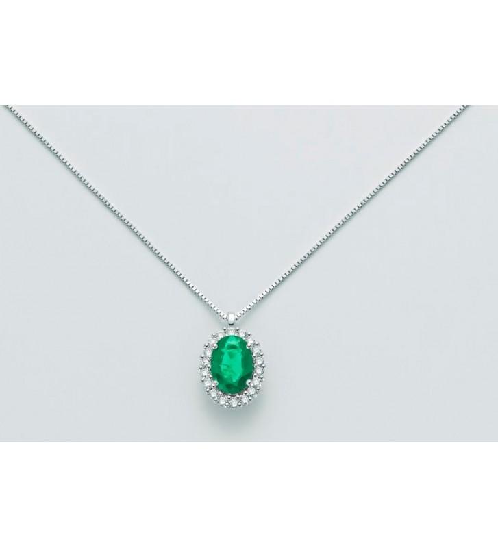 Ring aus Weissgold 18kt mit Solitär-Diamant Wert 340 - 30091421