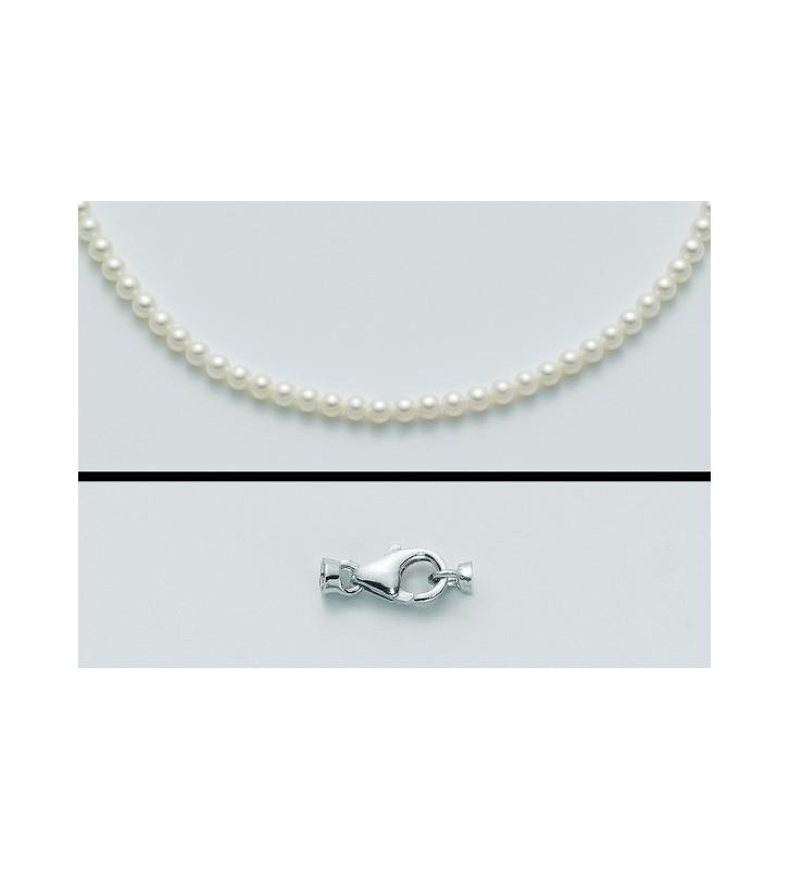 Girocollo MILUNA di perle e oro bianco 18kt PCL4196