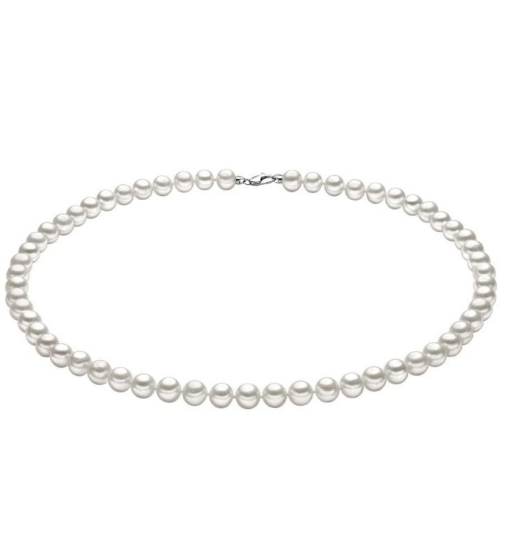 Collana COMETE GIOIELLI di perle ed oro bianco FWQ104