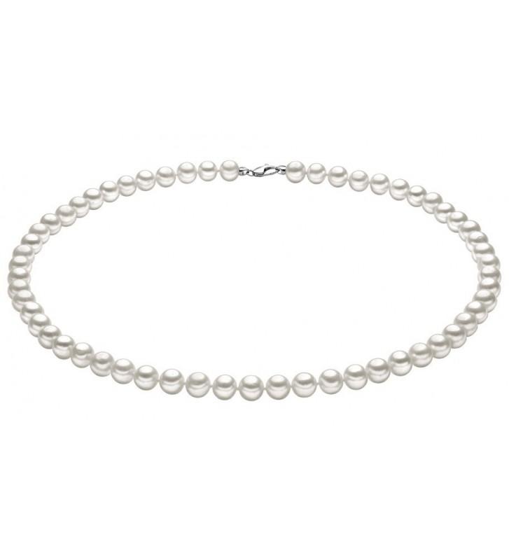 Collana COMETE GIOIELLI di perle ed oro bianco FWQ105