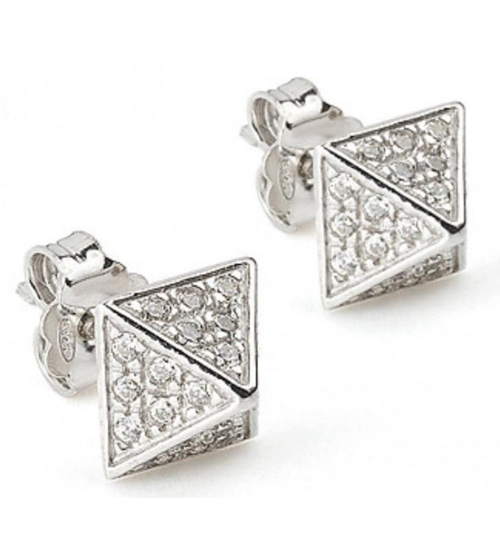 SALDI Orecchini JACK & CO. Rockstar Jewelry in argento JCE0218