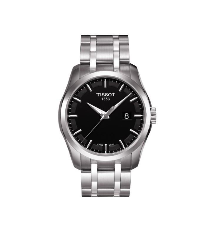 Orologio TISSOT COUTURIER black index - T0354101105100