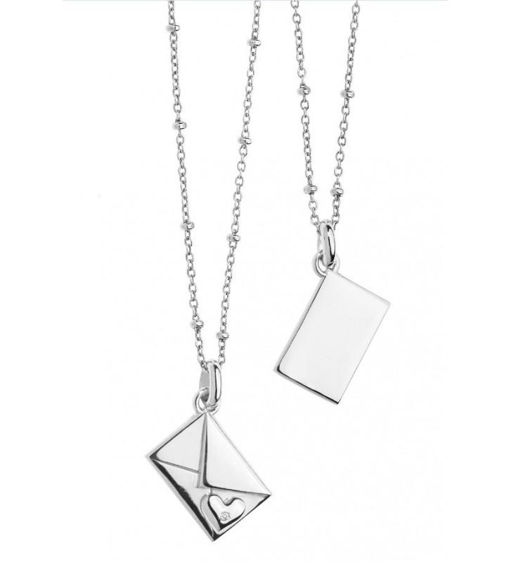 SALDI Girocollo COMETE GIOIELLI in argento 925 con diamante GLA134