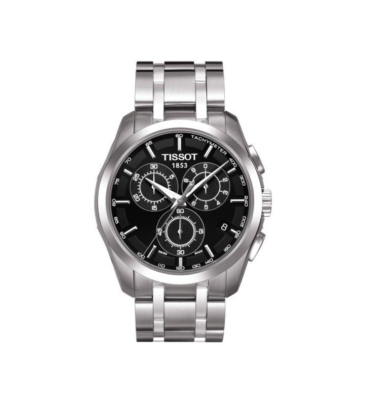 Orologio TISSOT COUTURIER chrono black - T0356171105100